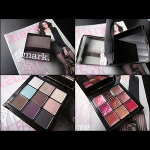 Mark Super Flip Color Kit Pallet Eye Shadow & Lips